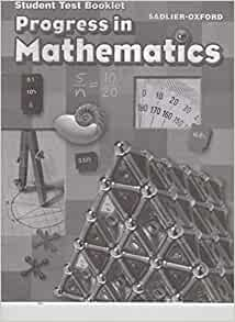 progress in mathematics student test booklet grade 6. Black Bedroom Furniture Sets. Home Design Ideas