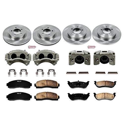 Power Stop KCOE2722 Autospecialty 1-Click OE Replacement Brake Kit with Calipers ()