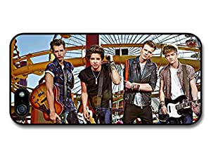 The Vamps Brad Simpson Boyband Posing with Instrument in Amusement Park case for iPhone 5 5S