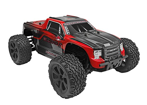 Redcat Racing Blackout XTE 1/10 Scale Electric Monster Truck with Waterproof Electronics, Red by Redcat Racing (Image #2)