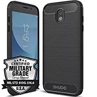 Capa para Galaxy J7 Pro, SKUDO Rugged [Emborrachada][Anti Impacto ][Mil-Grade] , Samsung Galaxy J7 Pro (J730)