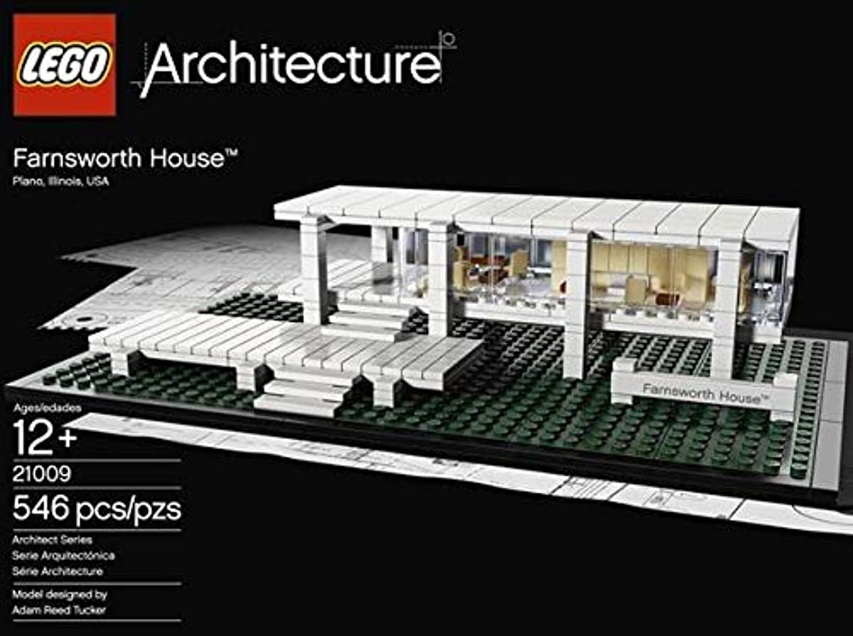 [레고 아키텍쳐] LEGO Architecture Farnsworth House 21009