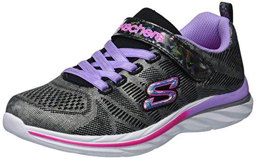 - Skechers Kids Kids' Quick Kicks-Shimmer Dance Sneaker,black/multi,12.5 Medium US Little Kid