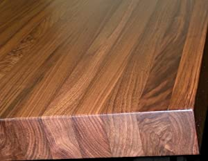 Walnut Edge Grain Butcher Block Countertop, Island, Bench, Tabletop