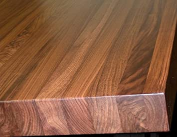 Walnut Edge Grain Butcher Block Countertop Island Bench Tabletop