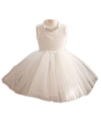 Shiny Toddler Shiny Toddler Partei-Tutu-Kleid für Mädchen 8 Weiß ...