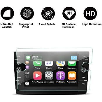 amazoncom  tiguan touch screen car display navigation screen protector  ruiya hd clear