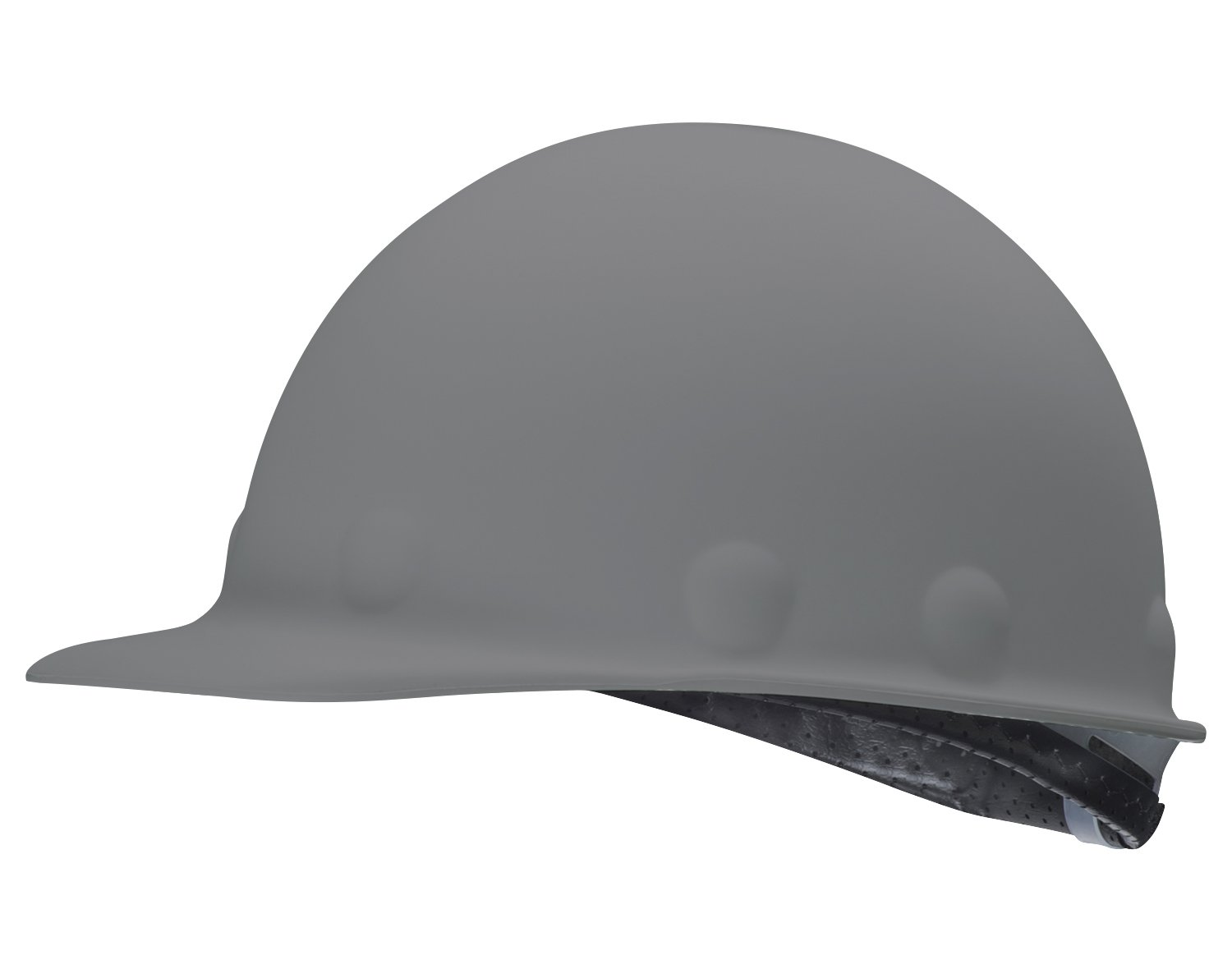 Fibre-Metal by Honeywell P2AW09A000 Super Eight Fiber Glass Tab Lok Cap Style Hard Hat, Grey
