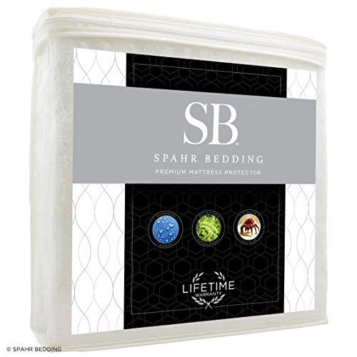 Spahr Bedding Waterproof Mattress Protector - Hypoallergenic