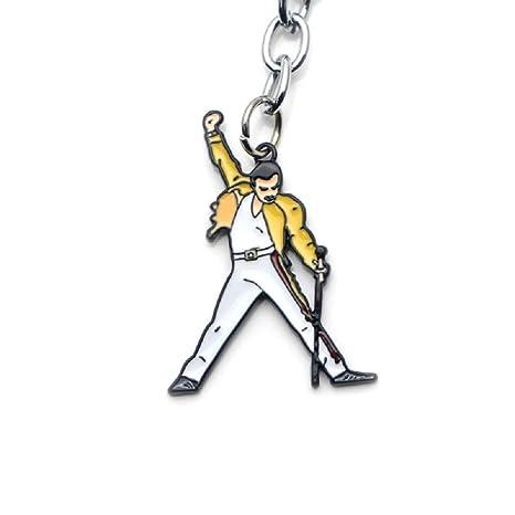 Llavero de Freddie Mercury de Queen en el Escenario con ...