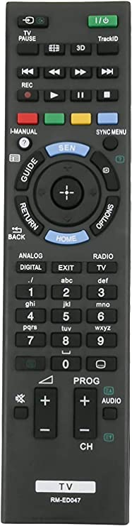 ALLIMITY RM-ED047 Reemplazo de Control Remoto para Sony Bravia TV KDL-32R300B KDL-22BX320 KDL-32BX320 KDL-46BX421 KDL-32BX321 KDL-32BX421 KDL-40BX420 KDL-40BX421 KDL-46BX420 KDL-22BX321 KDL-55BX520: Amazon.es: Electrónica