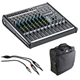 Best Mackie Mixer Bands - Mackie ProFX12v2 12-Channel Sound Reinforcement Mixer with Padded Review