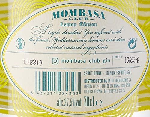 Mombasa Lemon Edition 0,7 L