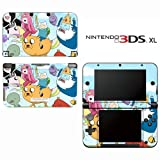 Adventure Time Decorative Video Game Decal Cover Skin Protector for Nintendo 3DS XL