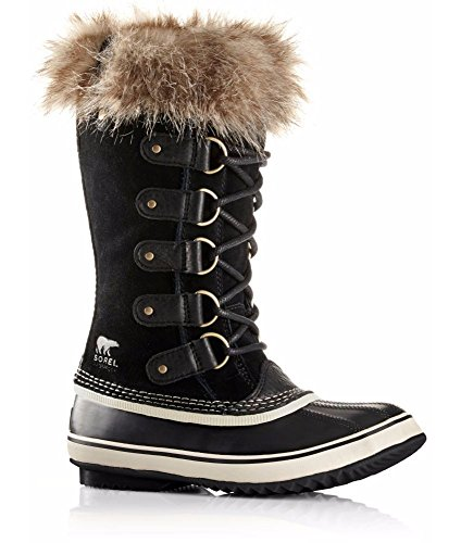 Sorel Women's Joan Of Arctic NL1540 Boot,Black,9 M (Boots Joan Artic Of)