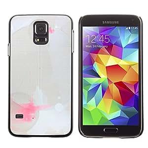 LECELL--Funda protectora / Cubierta / Piel For Samsung Galaxy S5 SM-G900 -- Modern Art Paint Splash Geometrical --