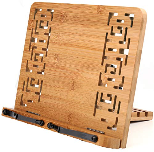 Lawei Bamboo Book Stand