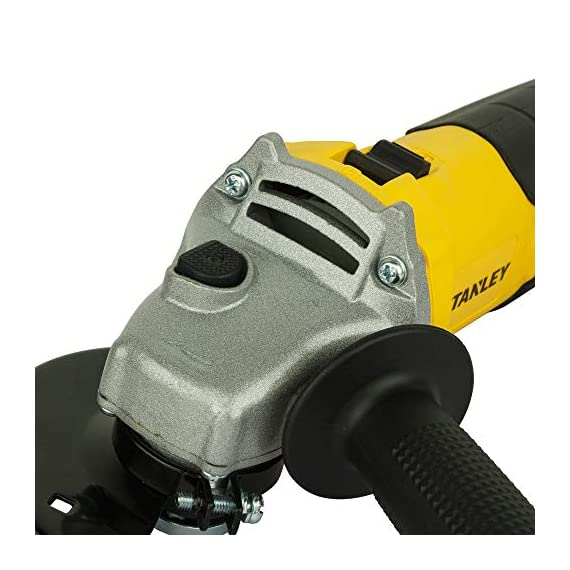 STANLEY STGS6100 600W, 100mm Small Angle Grinder (Yellow and Black) 2