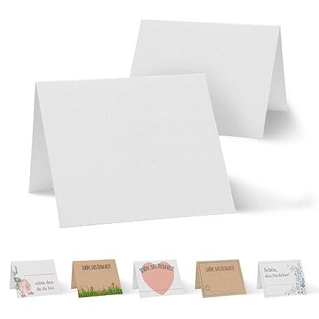100 Tarjetas de Mesa - Tarjetas de identificación para ...