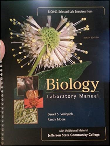 Biology laboratory manual 9th edition vodopich moore amazon books fandeluxe Images