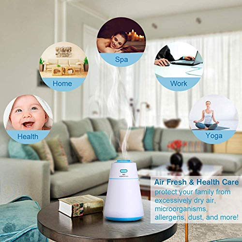 WitMoving Cool Air Humidifier USB Rechargable Ultrasonic Mist Whisper-Quite For Babies and Bedroom by WitMoving (Image #5)
