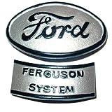 Hood Emblem Ferguson System Ford 9N 2N 9N16600