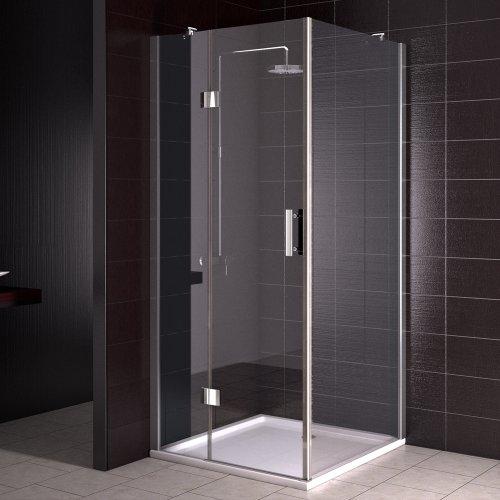 Duschkabine Duschtasse Duschabtrennung Duschwanne Dusche 90x90 cm Nano