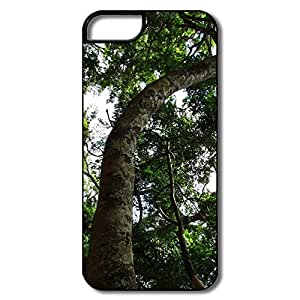 IPhone 5 5S Covers, Park Cover For IPhone 5 - White/black Hard Plastic by lolosakes