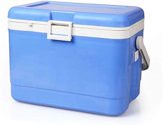 Vobajf Nevera portátil Frío o Caliente Caja fría Azul Capacidad de ...