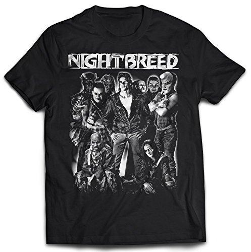 Night Breed T-Shirt (XL) Black
