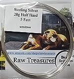 Sterling Silver Wire 20 Gauge Round Half Hard (5 Feet)