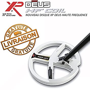 XP Metal Detectors - Detector de metales Deus - Disco DD 22,5 cm alta frecuencia équipé de sonido Protège Disco: Amazon.es: Bricolaje y herramientas