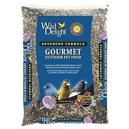 Wild Delight 368080 Advanced Formula Gourmet Outdoor Bird Food, 8 Pounds