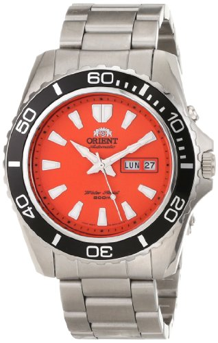 Orient Men's 'Mako XL' Japanese Automatic Stainless Steel Diving Watch, Color:Silver-Toned (Model: FEM75001MW)
