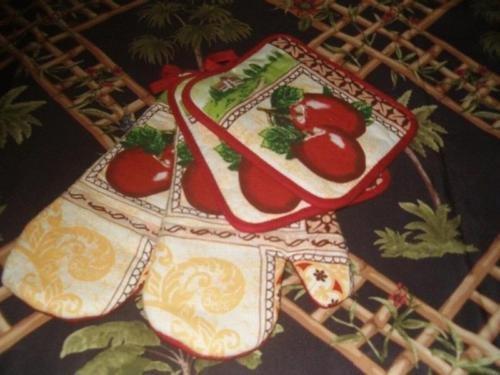 The Pecan Man Cotton, Everyday Kitchen Set 2Pot