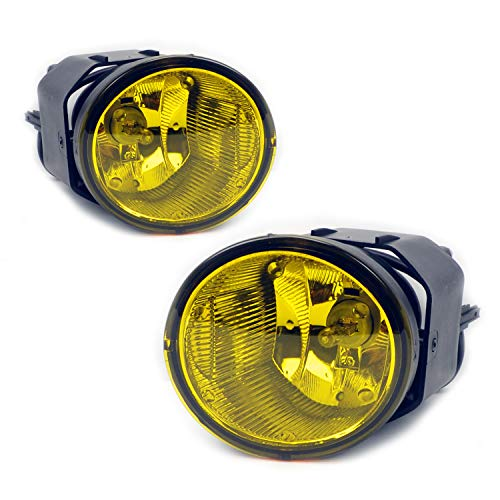 - TC Sportline LA-NIFR0101YE-W OE Style Pair Yellow Lens Front Bumper Driving Fog Lights Lamp with Switch Wire - For 01-04 Nissan Frontier, 00-01 Nissan Maxima, 00-03 Nissan Sentra, 02-04 Nissan Xterra