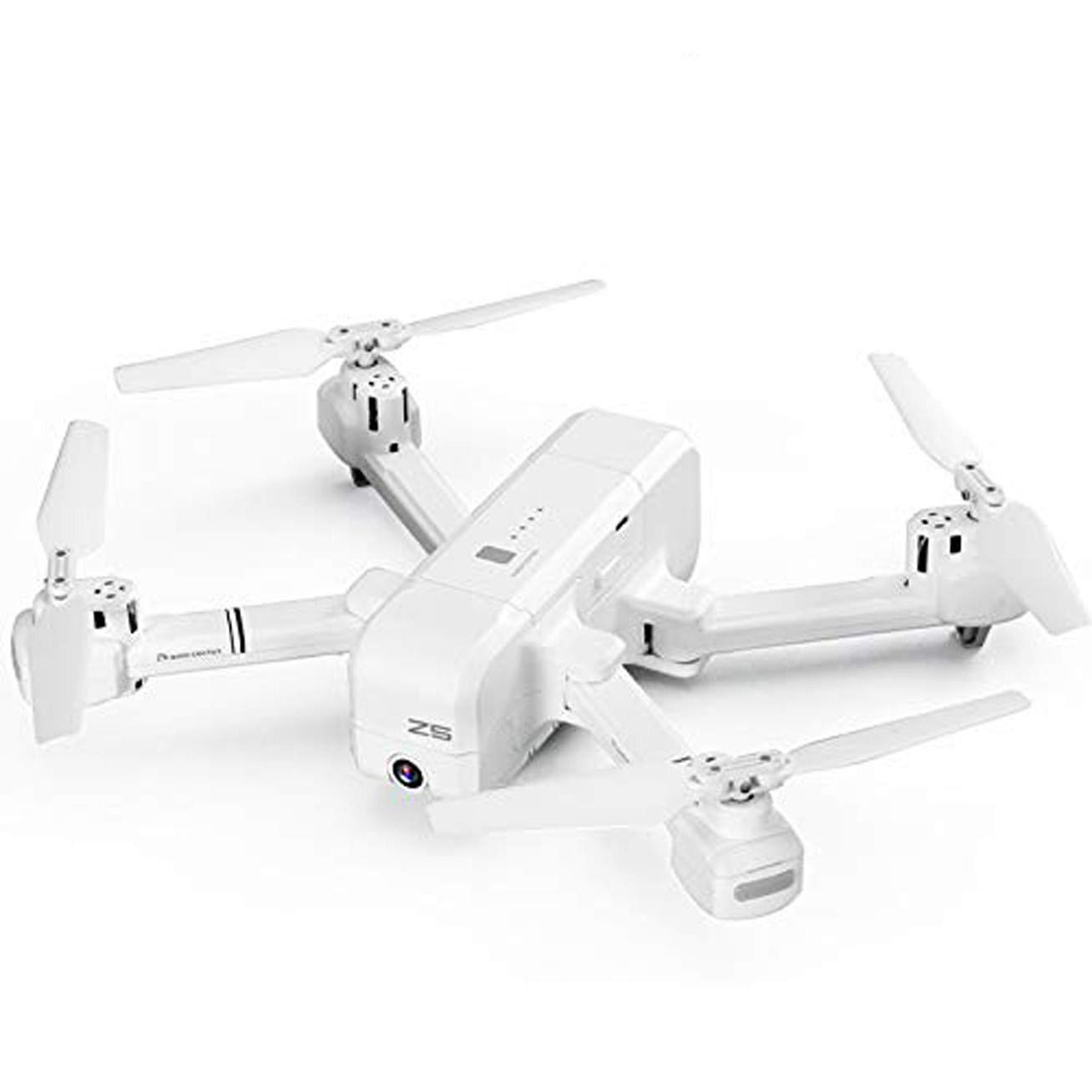 MOZATE SJRC Z5 Quadrocopter with HD 720P Camera GPS Drone 2.4G WiFi FPV Altitude Hold Follow Me (White) by MOZATE (Image #3)
