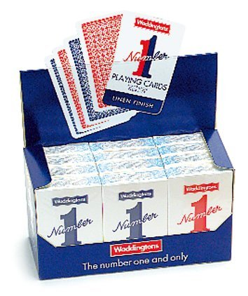 Waddington No.1 Playing Cards 12 packs, used for sale  Delivered anywhere in USA