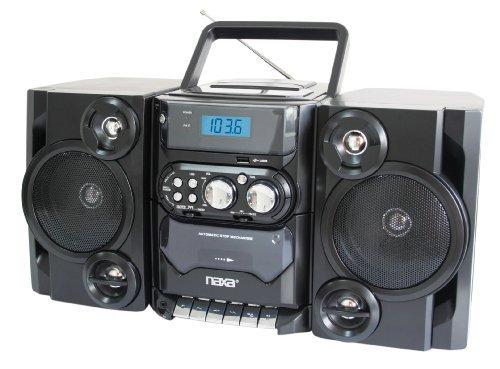 NAXA NPB252BL Portable CD/MP3 Players with AM/FM Stereo (Blue) consumer electronics