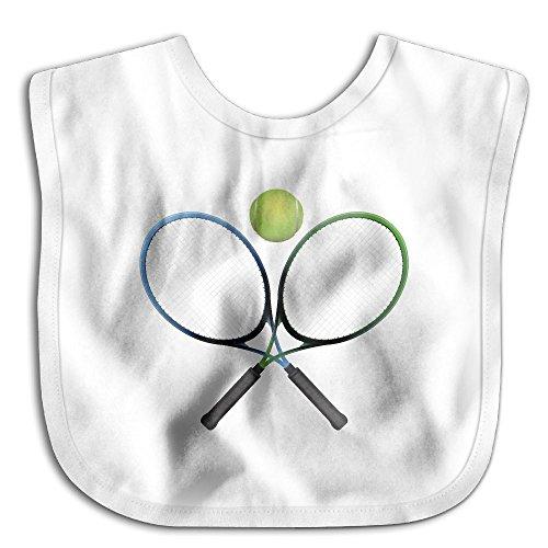 Price comparison product image KIDDDDS Baby's Tennis Racket Ball Saliva Towel Bibs Burp Cloths