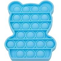 Juguete sensorial Push Pop It Bubble Fidget – Alivio del estrés de silicona Juguete para aliviar el estrés – Juguete…
