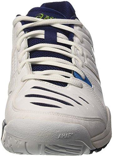 Ginnastica Blue Gel Da lime challenger Uomo Scarpe indigo Asics white Bianco 10 pXf1B