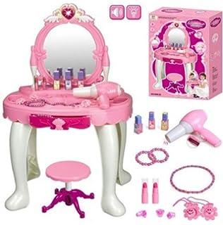 Girls Dressing Table Mirror Play Set / Toys Play Game Toddler Boys Girls