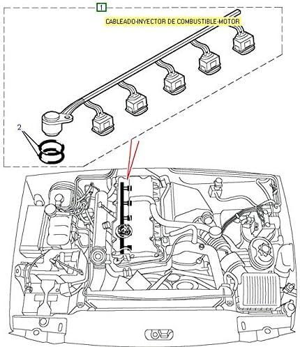 Harness TD5 C/âblage Injecteurs