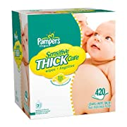 Pampers Thick Sensitive Wipes 420-pk.