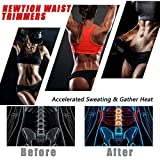 Newtion Waist Trainer Trimmer for Women Weight Loss Thigh Waist Butt Lifter Shapewear Belt-Workout Body Sweat Band