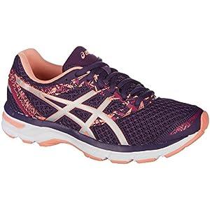 ASICS Womens Gel-Excite 4 Running Shoe, Grape/Silver/Begonia Pink, 9.5 B(M) US
