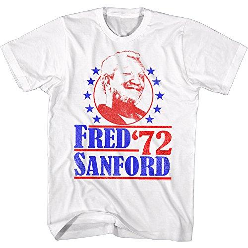 Pour Sanford Sitcom shirt La Fo Blanc Sont F 1970 Et 2bhip Comédie Homme Tee paqwBP