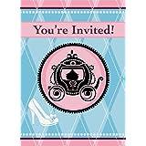 Fairytale Princess Invitations, 8ct