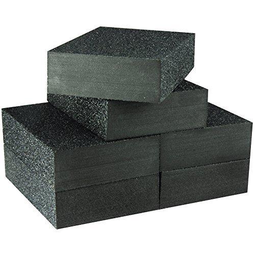 Juego de 6 esponjas de lija multiusos de gran valor, bloque de lijado, bloques de lijado, juego de 6 esponjas de lijado,...